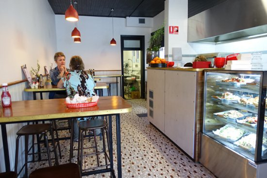 The Fat Pigeon Cafe in Marrickville